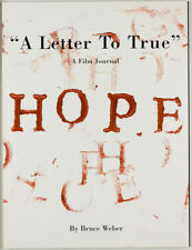 BRUCE WEBER Hope A Letter To True VOGUE ITALIA magazine KATE MOSS Drew Barrymore