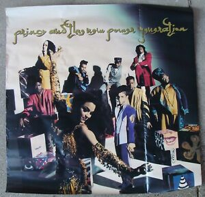 PRINCE AND THE NEW POWER GENERATION record poster original music store promo