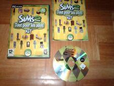 LES SIMS 2...tout pour les ados...jeu complet...sur PC