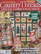 Australian Country Threads Magazine - Vol 6 No 9 Christmas Special Issue