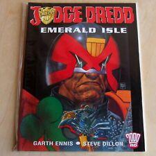 Judge Dredd: Emerald Isle (2000 AD Titan, 2001) Garth Ennis, Steve Dillon