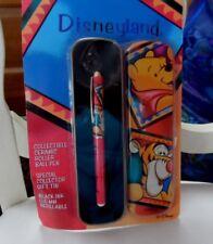 Disneyland Pooh and Tigger Ceramic roller ball pen with collector tin