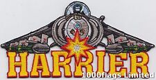 Harrier Jump Jet US marine Corps Embroidered Crest Badge Patch MOD Approved