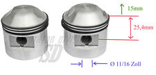 Triumph 650ccm T120 TR6 .060 hepolite PISTONS kolben 17844 70-9488 with rings