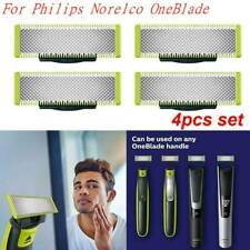 4 Pack Steel Replacement Blade For Philips Norelco OneBlade Electric Shaver