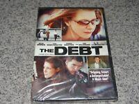 THE DEBT (DVD, 2011, Widescreen) Helen Mirren / Sam Worthington NEW & SEALED