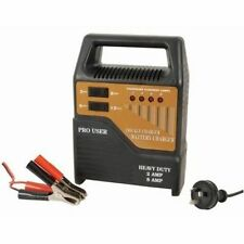 New! Battery Charger 6V & 12V Heavy Duty 8A with Trickle Charge for Car Boat 4WD