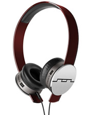 SOL Republic V10 Headphones - Red