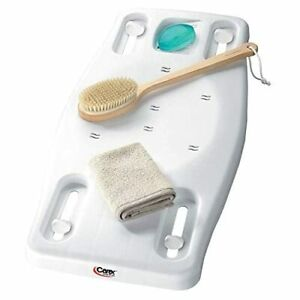 Carex Portable Shower Bench - Shower Bath Seat - Adjustable Width to Fit Most...
