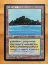 Mtg Fbb Tropical Island French Front : MP ; Back : MP/HP (See pics)