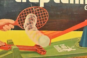 1975 Trap Tennis Game IDEAL Complete