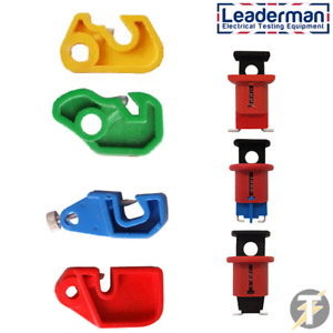 Leaderman 7 Piece Lockout Lock Off MCB RCD Device Push Pin Kit Isolator LOI-K1