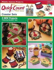 Coaster Sets in Plastic Canvas Quick Count 3053026 9 Projects Uniek Turkey Fish