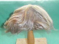 """Poupée Perruque mohair dark blond de 10"""" à 10.5"""" Court/antique/Allemagne"""
