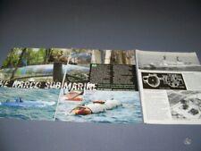 "NARCO SUBMARINES ""THE DRUG SUB""..HISTORY/PHOTOS/DETAILS..(718V)"