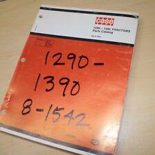 Case Ih International 1290 1390 Tractor Parts Manual Book Spare Catalog Farm