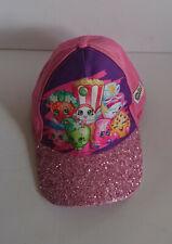 Shopkins Baseball Hat Kids Adjustable Cap Girls Hat Pink