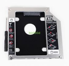"9.5mm SATA 2nd HDD SSD Hard Drive Optical Caddy Bay for MacBook Pro 13"" 15"" 17"""