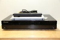 Pioneer BDP-320 High-End Blu-Ray Disc Player in Schwarz + Fernbedienung + BDA