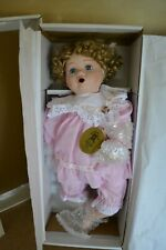 Hillview Lane Porcelain Doll Limited Edition Jemma  1997 FREE POSTAGE