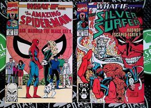 What if...?  #21-33 FULL RUN 1990-91 Marvel Comics Spider-Man X-Men Disney+