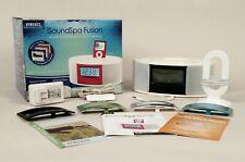 Homedics SS-6500 Isoundspa AM/FM Clock Radio Charging iPod Docking + Face Plates