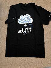 NWOT Microsoft Azure T-shirt Adult Medium Black