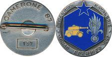 1° R.E.C, 3° Esc, EPERVIER 1987, CAMERONE 87, matriculé
