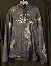 Mossy Oak performance hoodie, in Break Up Eclipse Camo, moisture wicking, Large