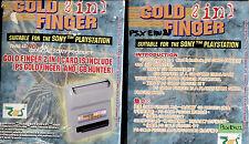 GOLD FINGER 2 in 1 - SONY PLAYSTATION 1 + EMULATORE GAME BOY, NUOVO E SIGILLATO