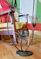 Mid Century Brutalist Torch Copper Steel Urchin Seandel Bertoia Era Sculpture