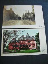 Mansfield Oh Rppc Postcards 1910 Ohio