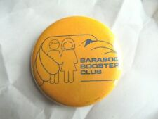 Vintage Baraboo Booster Club WI High School Thunderbirds Sports Pride Pinback