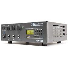 AMPLIFICATORE AUDIO LINE 100V PROFESSIONALE IBRIDO 12V FILODIFFUSIONE USB SD