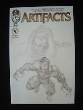 Artifacts #5 F Store Variant Darkness Witchblade Aphrodite Top Cow Nm