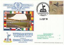16 SEPT 1999 TOTTENHAM HOTSPUR v ZIMBRU CHISINAU UEFA CUP DAWN FOOTBALL COVER