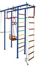 Kids Home Gym Swedish Wall Indoor Playground with Swing and others - Vertical-4