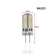 1pcs G4 3014SMD 4W 64leds LED Crystal lamp light LED Chandelier AC220V-CoolWhite
