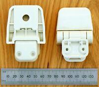 Jabsco Toilet Seat Hinge Set for Regular Wood Assembly (29098-2000)