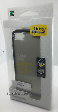 OtterBox SYMMETRY Slim Hard Shell Snap Cover Case for iPhone 7 (Clear/Black)NEW