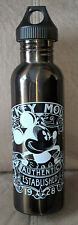 Mickey Mouse Canteen Water Bottle Aluminum Disney Parks Drinking Container RARE