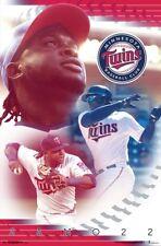 MIGUEL SANO - MINNESOTA TWINS POSTER - 22x34 BASEBALL MLB 16499