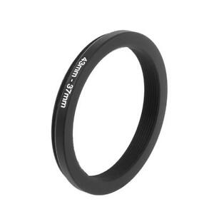 43mm To 37mm Metal Step Down Filter Lens Ring Adapter Camera Tool Accessories
