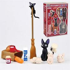Ghibli Kiki's Delivery Service Black Cat Jiji Figurine Figure Assemble Set Toy