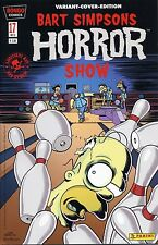 Bart Simpsons Horror Show #17 Variant-cover limitado 999 ex. Comic Action 2013
