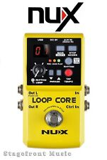 Nu-X NUX LOOP CORE GUITAR LOOPER EFFECTS PEDAL 6 HOURS RECORD TIME *BRAND NEW*