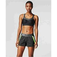 Under Armour Women's Armour High Crossback Bra, Black, Size 32DD PBpX
