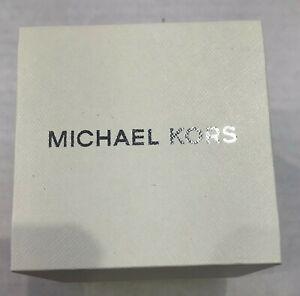 Michael Kors Original watch box with Manual booklet and matching pillow
