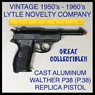 VINTAGE LYTLE NOVELTY WALTHER P38 (P.38) ALUMINUM REPLICA PISTOL (GREAT FIND!!)