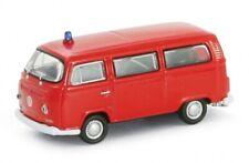 1:87 Scale Welly 73112F 1972 Volkswagen T2 Minibus - Feuerwehr - BNIB